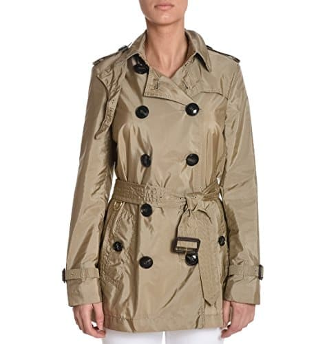 burberry femme kerringdale45401094526330 beige polyamide trench coat miss addict. Black Bedroom Furniture Sets. Home Design Ideas