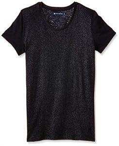 Petit Bateau – T-shirt Femme – Noir – (NOCTAMBULE/ARGENT 32) – 38