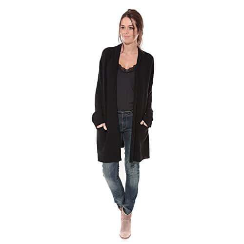 hector et lola veste femme cachemire noir 36 38 miss addict. Black Bedroom Furniture Sets. Home Design Ideas