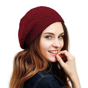 JULY SHEEP – Béret – Femme – Rouge – Taille Unique