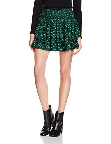 vanessa bruno flynn jupe femme vert sapin fr 38 taille fabricant 38 miss addict. Black Bedroom Furniture Sets. Home Design Ideas