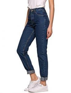 jean cotton pour femme taille haute skinny jegging pantalon jean