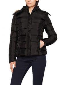 Kaporal Buffy, Blouson Femme, Noir (Black), X-Large (Taille Fabricant: XL)