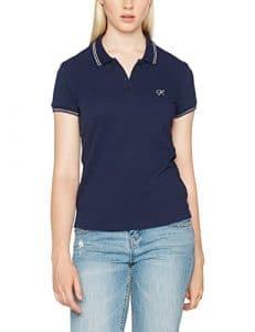 Kaporal Shai, T-Shirt Femme, Bleu (Peacoat), Medium (Taille Fabricant: M)