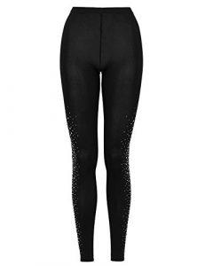 Wolford – Legging – Femme Noir noir/argent – Noir – Medium
