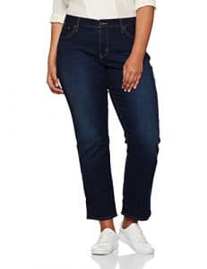 Levi's 314 Pl Shaping Straight, Jeans Femme, Bleu (Vast Sky Plus), 48/L30 (Taille Fabricant: 18/S)