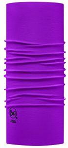Buff 111426.610.10.00 Tour de Cou Mixte Adulte, Solid Boysenberry, FR : Taille Unique (Taille Fabricant : Taille Unique)