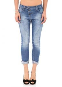 Please JEANS FEMME P78ABQ2E13 FAIBLE BOYFRIEND AMPLE BAGGY P78 xl denim