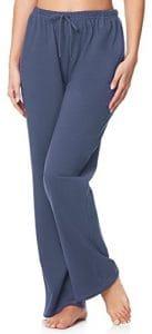 Merry Style Pantalon de pyjama Femme MPP-001 (Jeans (220), XXL)