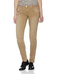 Freeman T Porter Alexa Slim New Magic Color, Pantalon Femme, Braun (Kangaroo F828), W28 (Taille Fabricant: M)