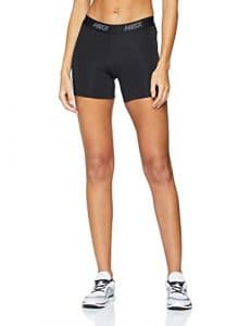 Nike W NK Short 5in Vcty Sport Femme, Noir (Black/White 011), 36 (Taille Fabricant: Small)