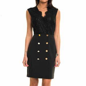 Guess Marciano 92G737-8180Z Robe Femme Noir 46