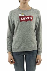 Levis Relaxed Graphic Crew Peanuts Housemark S