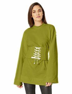Puma Fenty Corset Sweat pour Femme – Vert – Taille M