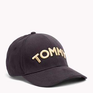 Tommy Hilfiger Tommy Patch Cap Casquette De Baseball, Noir (Black 002), Unique (Taille Fabricant: OS) Femme