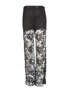 Prada Luxury Fashion Femme P281CS1921VDFF0002 Noir Pantalon | Automne_Hiver