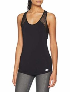 Sloggi Women Move Flex Tank Base Layers De Sport, Noir (Black 0004), L Femme