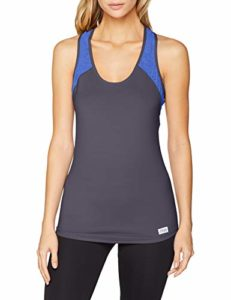 Sloggi Women Move Fly Tank Base Layers De Sport, Multicolore (Blue-Dark Combination M008), M Femme