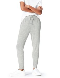 find. Joggers with Drawstring Waist and Tapered Cut Pantalon, Gris (Grey Marl), 44 (Taille Fabricant: X-Large)