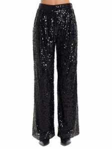 IN THE MOOD FOR LOVE Luxury Fashion Femme RIVERPANTSBLACK Noir Pantalon | Automne_Hiver