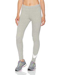 Nike – W NSW lggng Club logo2 – Collant pour femme – Gris – Taille: XS