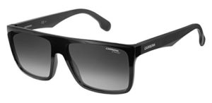 Carrera 5039/S 9O 807 58 Montures de Lunettes, Noir (Black/Dark Grey), Mixte Adulte