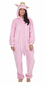 CityComfort Combinaison Pyjama Femme Kigurumi Onesie Ensemble Pyjama Licorne Cosplay Costume d'animal Super Doux et Confortable Grenouillère pour Fête, Déguisement (M, Kitty Chat)