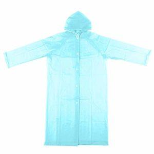 Femme Jaune Manteau Imperméable – Long Imperméable Manteaus Transparent Pour Dames, Poncho Manteau Pluie Blanc Léger Pour Homme Avec Capuche