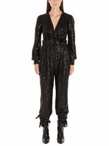 IN THE MOOD FOR LOVE Femme Amberjumpsuitblack Noir Polyester Combinaison