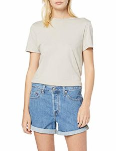 Levi's 501 Long, Bleu (Montgomery Stonewash Short 0012), W28 (Taille Fabricant: 28) Femme