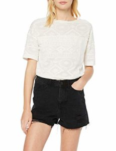 New Look Ss19 Li Mom Short Cranberry (6131099), Noir (Black 1), 40 (Taille Fabricant: 12) Femme