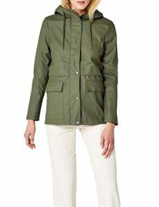 Only onlTRAIN Short Raincoat OTW Noos Manteau Imperméable, Vert Kalamata, 42 (Taille Fabricant: Medium) Femme