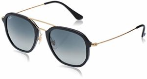 Ray-Ban 0RB4273 601/71 52 Montures de Lunettes, Noir (Black/Gradient Green), Mixte Adulte