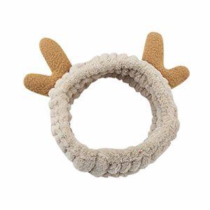 VANMO Noël Boucles d'oreilles Femmes Romantique Bijoux Forme de Renne Mignon Boucles d'oreilles de Pendentif Bijoux Cadeau pour Noël Beau Petit Cadeau Cadeau de Noel