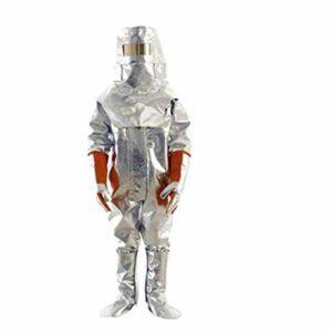 XUDONG Tenue de Protection Contre Les éclaboussures de métal résistant aux éclaboussures de métal des vêtements de Protection Contre Les Produits Chimiques Siamois 19A (Taille: XL),X-Large
