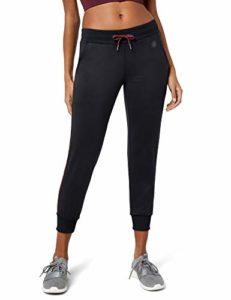 AURIQUE Bas de Jogging Femme, Noir (Black/Port Royale), 40 (Taille Fabricant: Medium)