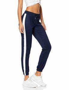 AURIQUE Sfp6-l26 Pantalon De Sport, Bleu (Navy), 42