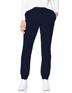 CARE OF by PUMA Pantalon de jogging en tissu éponge pour femme, Bleu (Blue), 42 (Taille fabricant: Large)