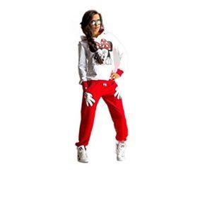 GGTBOUTIQUE – Tailleur-Pantalon – Survtement. – Femme Multicolore Multicolore Medium – Multicolore – Medium