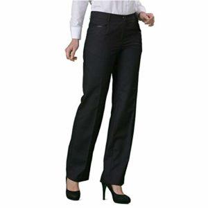 Label Blouse Pantalon Tailleur Pantalon ISY Venus Noir cein regl