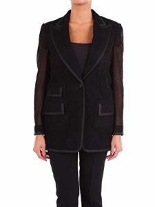 Luxury Fashion | Dolce E Gabbana Femme F29AGTGDN07N0000 Noir Blazer | Saison Outlet