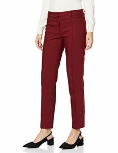 More & More Businesshose Von Tailleur-Pantalon, Rouge (Wine Red 0548), 36 (Taille Fabricant: 34) Femme