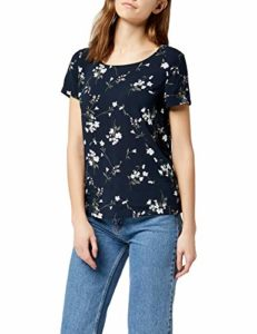 Only Onlfirst SS Mix AOP Top Noos WVN Débardeur, Gris (Night Sky AOP:Flowers Aw18), 38 (Taille Fabricant: 36) Femme