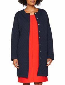 Petit Bateau Vestes LEGERES Manteau imperméable, Bleu (Smoking 01), Taille Fabricant: 3 (L) Femme