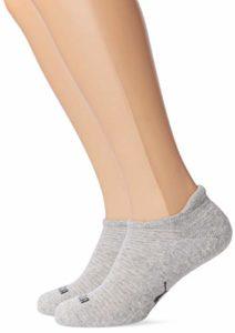 Puma Sneaker 2P Women Chaussettes de Sport Femme, Gris (Grey Mélange 32), 35/38 (Taille fabricant:035) (Lot de 2)