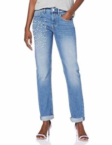 Replay Heter Jean Boyfriend, Bleu (Light Blue 10), W31/L30 (Taille Fabricant: 31) Femme