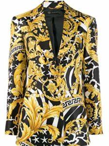Versace Luxury Fashion Femme A83183A230808A7900 Or Blazer | Automne_Hiver